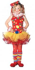 Circus Clown Child Medium 7-10