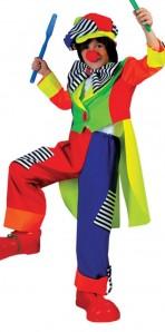 Spanky Stripes Clown Child Small